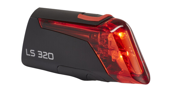 TRELOCK LS 320 - Lampe arrière - noir